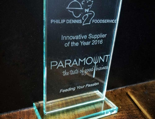Philip Dennis chose Paramount 21 as 'Innovative Supplier of the Year!'