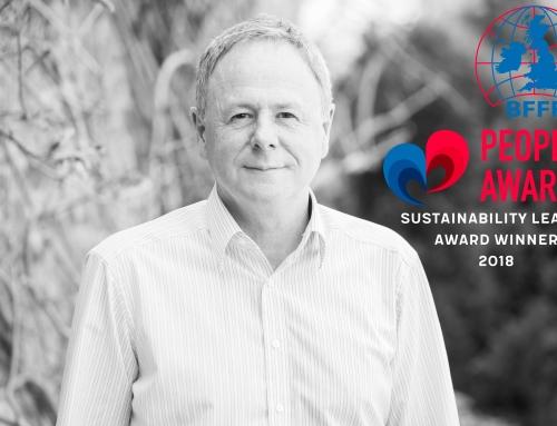 BFFF Sustainability Leader Award Winner 2018!